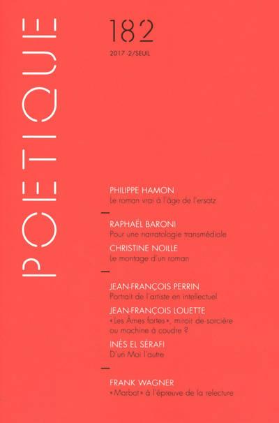 Poétique, n° 182
