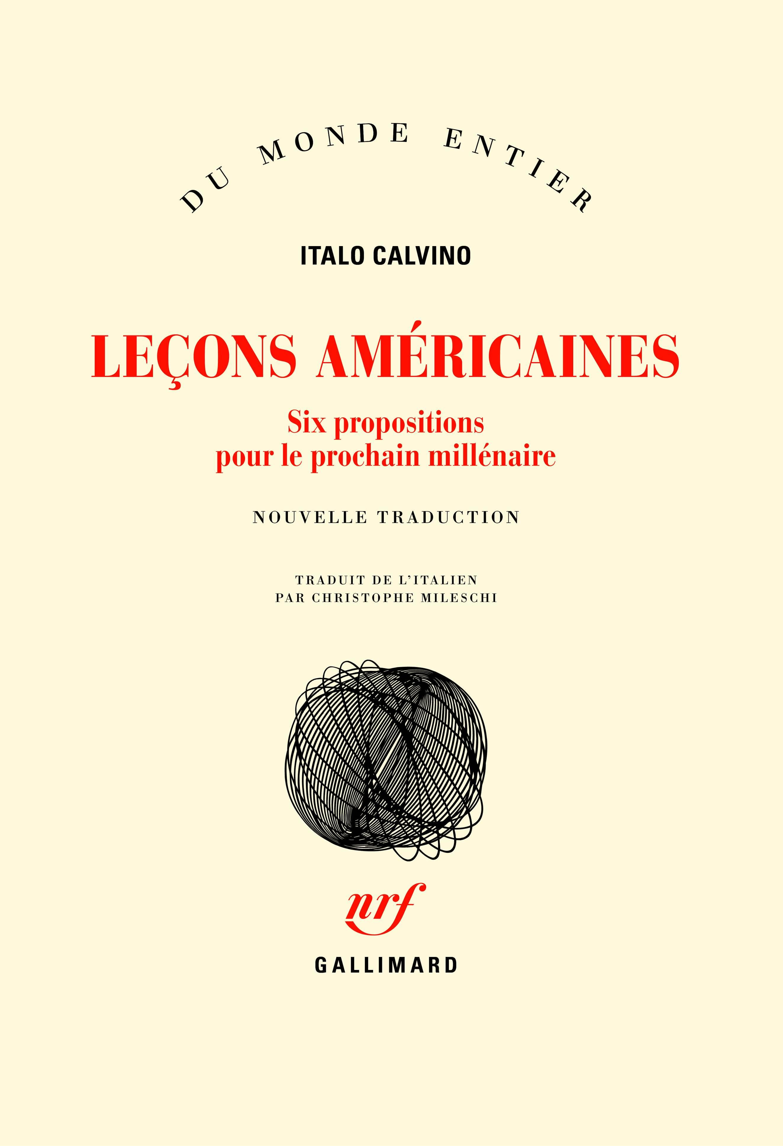 I. Calvino, Leçons américaines (nouvelle trad. C. Mileschi)