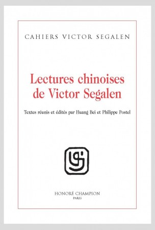 Cahiers Victor Segalen, n° 3, Lectures chinoises de Victor Segalen.