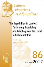 Cahiers victoriens et édouardiens, n° 86 :