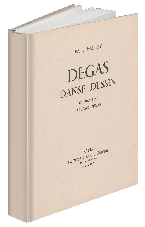 P. Valéry, Degas Danse Dessin. Fac-similé de l'éd. d'Ambroise Vollard (1936)