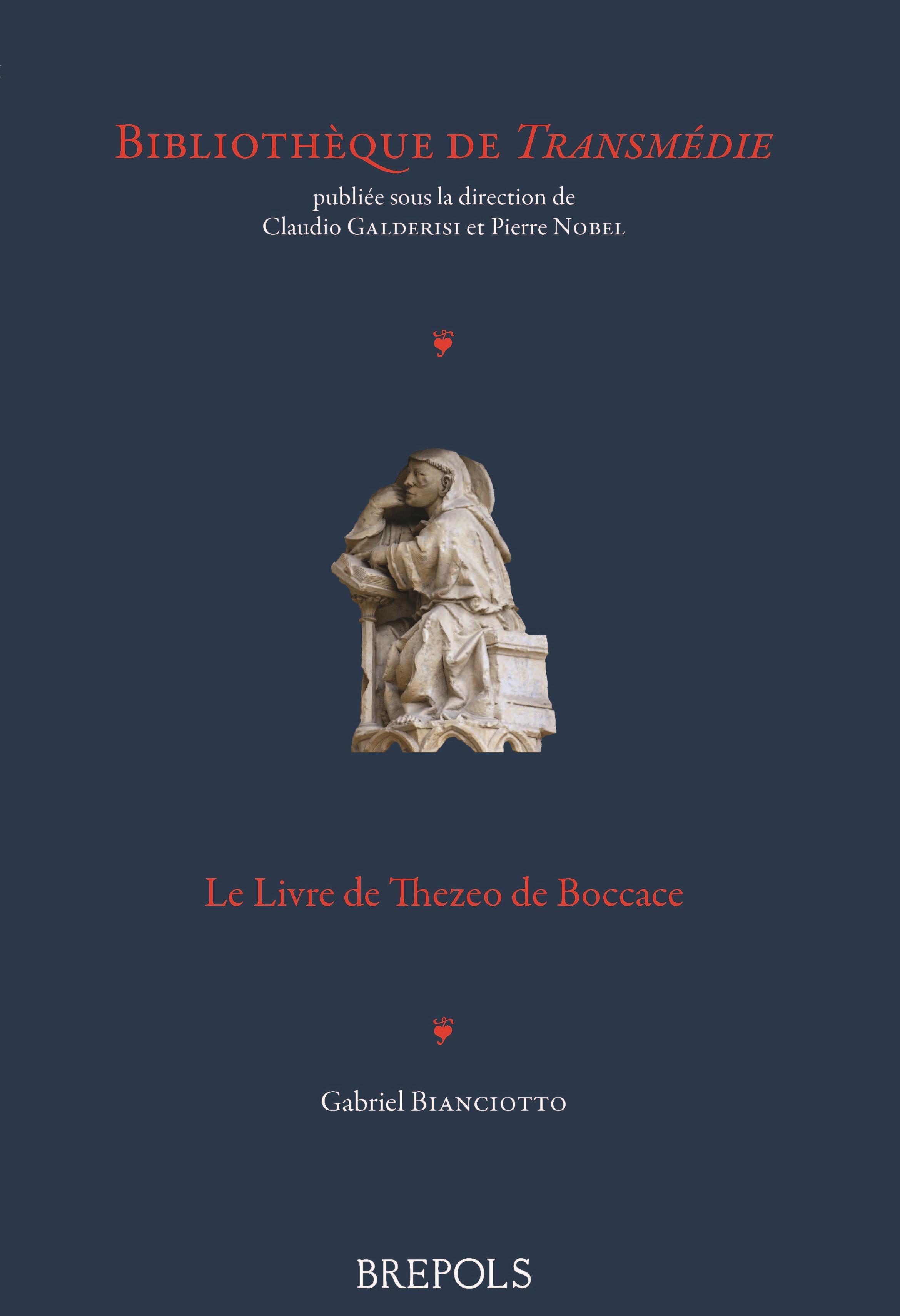G. Bianciotto, Le Livre de Thezeo de Boccace