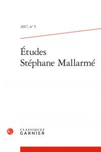 Études Stéphane Mallarmé, n° 5