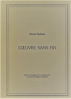 L'œuvre sans fin, par Hervé Guibert (herveguibert.net)