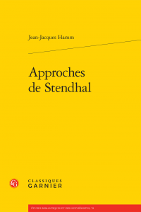J.-J. Hamm, Approches de Stendhal