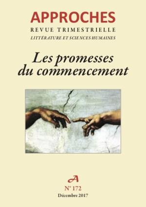 Approches n°172, Les promesses du commencement