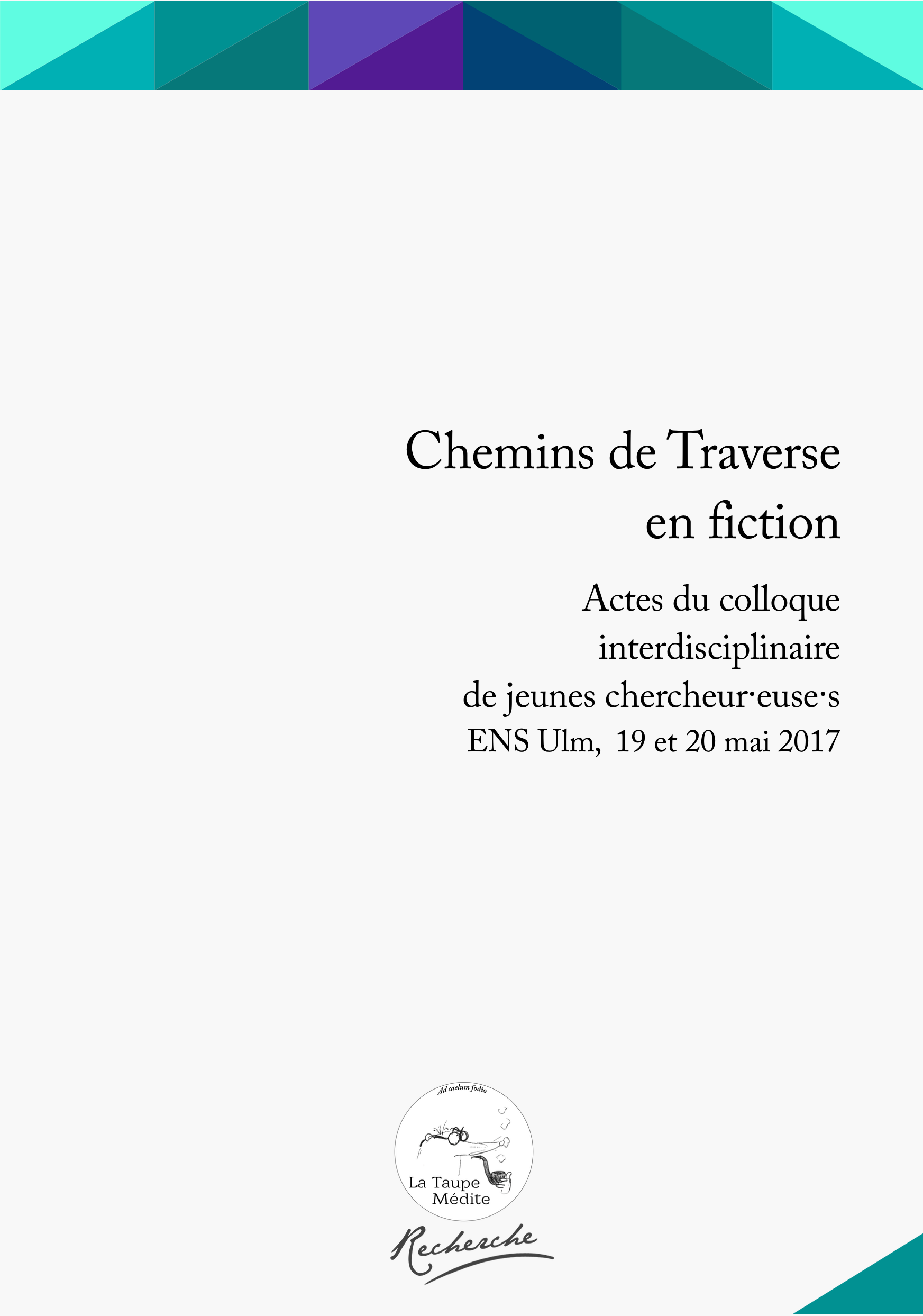 Chemins de Traverse en fiction (collectif)