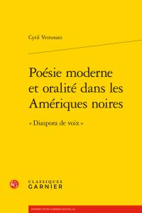C. Vettorato, Poésie moderne et oralité dans les Amériques noires - « Diaspora de voix »
