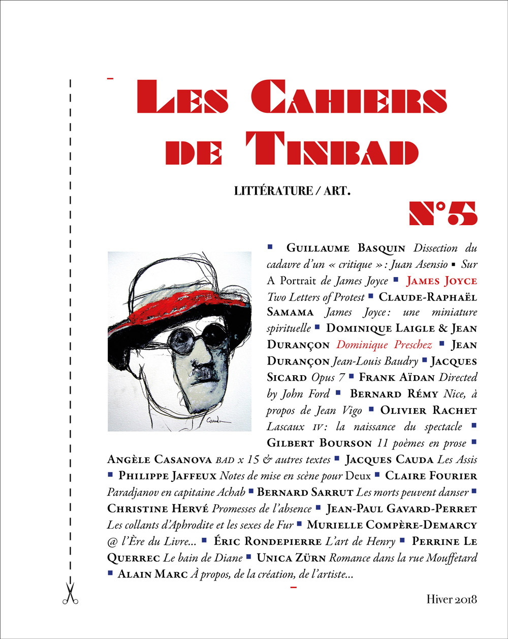 Les Cahiers de Tinbad, n°5