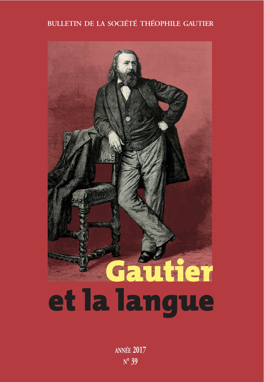 Bulletin de la Société Théophile Gautier, n° 39