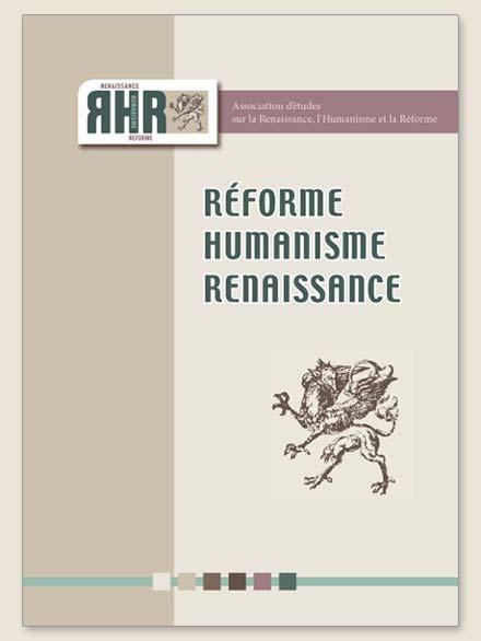 Réforme, Humanisme, Renaissance (n° 85)