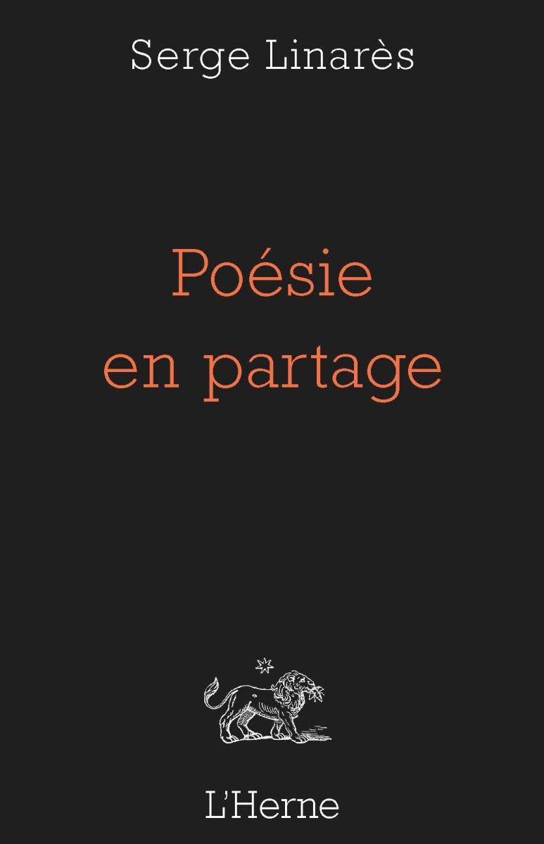 S. Linarès, Poésie en partage. Sur Pierre Reverdy et André du Bouchet
