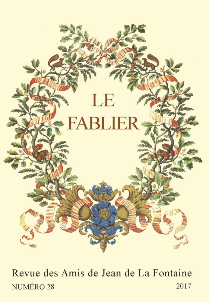 Itinérances de la fable. Transmissions, transferts et transactions II (Le Fablier, n° 28/2017)