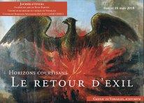 Horizons courtisans : le retour d'exil (Château de Versailles)