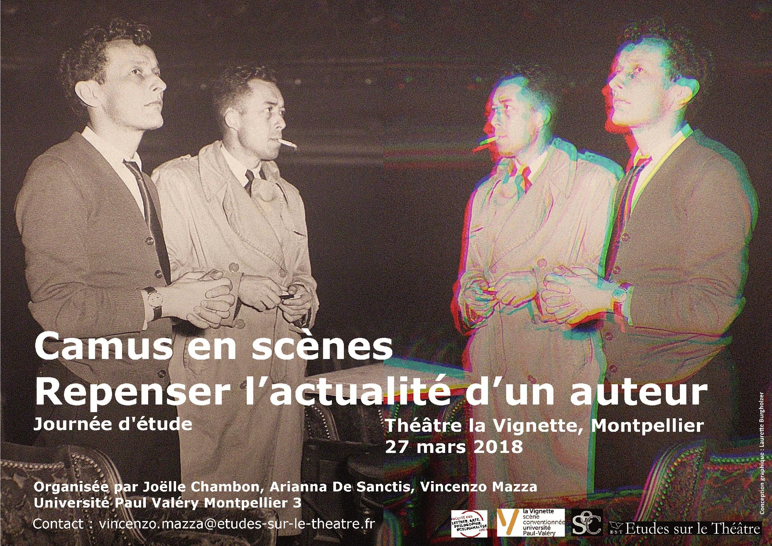 Camus en scènes. Repenser l'actualité d'un auteur (Montpellier)