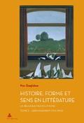 M. Quaghebeur, Histoire, Forme et Sens en Littérature. La Belgique francophone, t. 2 : L'Ébranlement (1914–1944)