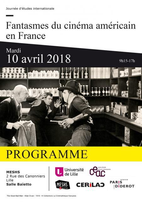 Fantasmes du cinéma américain en France (Lille)