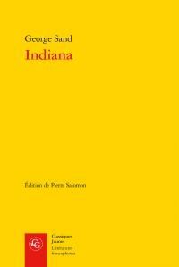 G. Sand, Indiana (éd. P. Salomon)