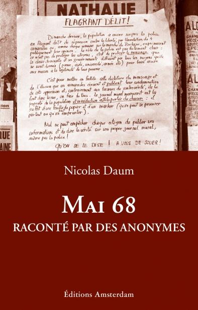 N. Daum, Mai 68 : raconté par des anonymes