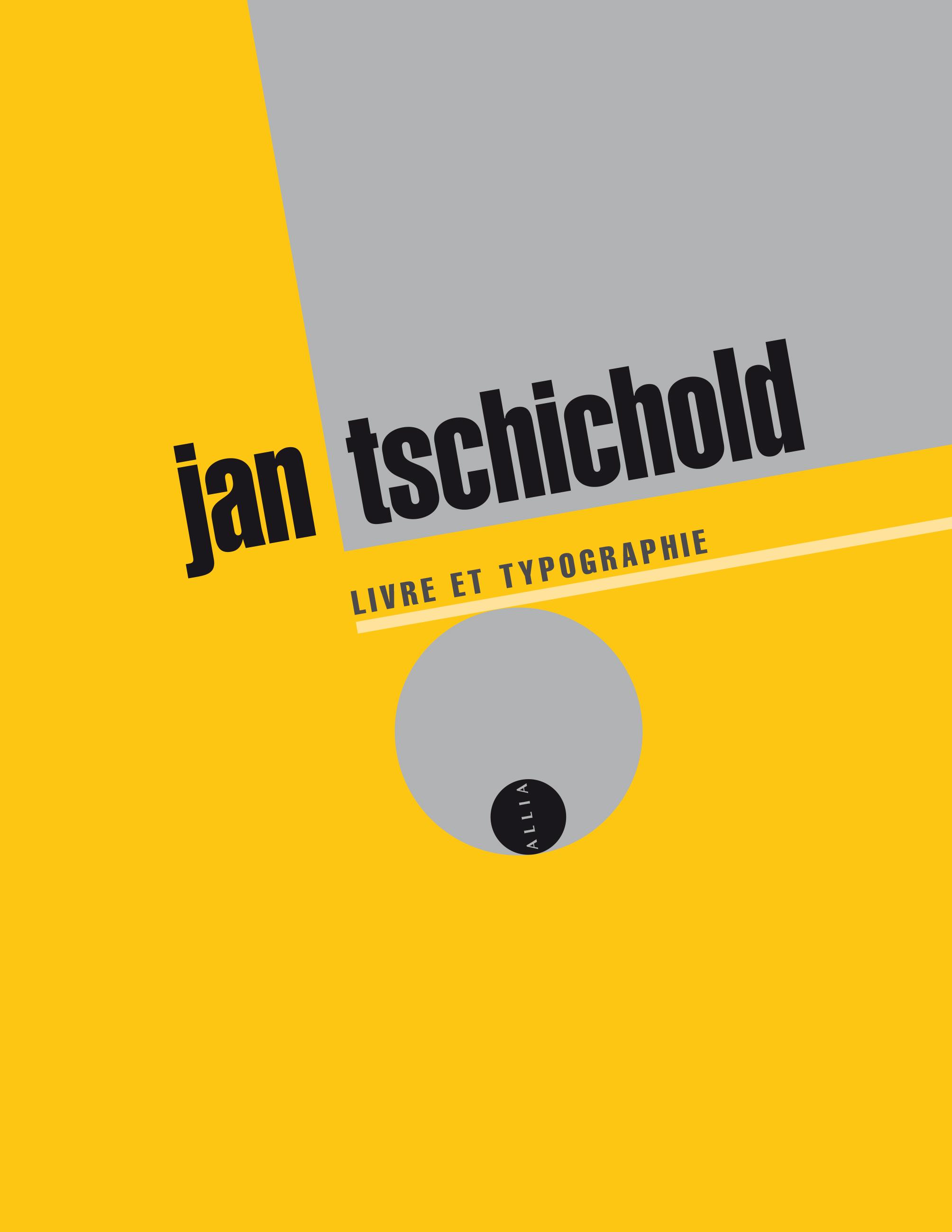 J. Tschichold, Livre et typographie