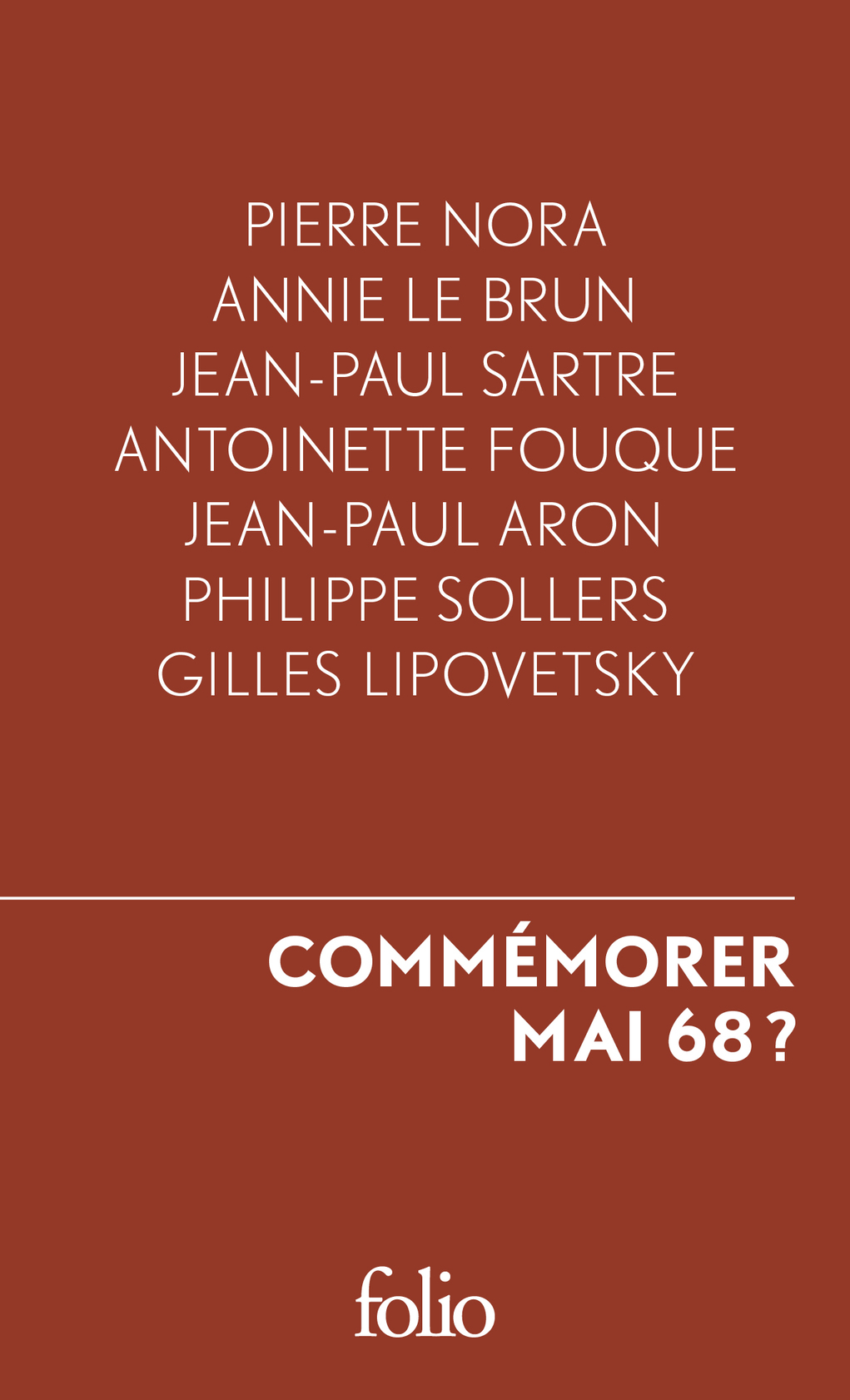 Commémorer 1968 ?