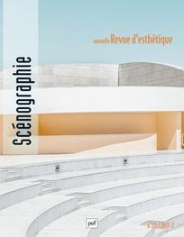Nouvelle revue d'esthétique, n° 20, Scénographie (dir. O. Bréaud-Holland)