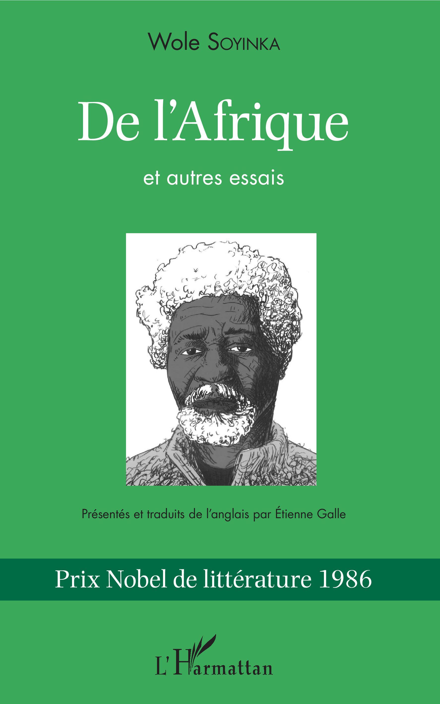 W. Soyinka, De l'Afrique et autres essais