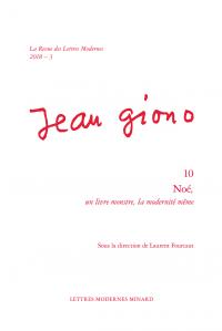 La Revue des lettres modernes, 2018 – 3 : Noé, un livre monstre, la modernité même