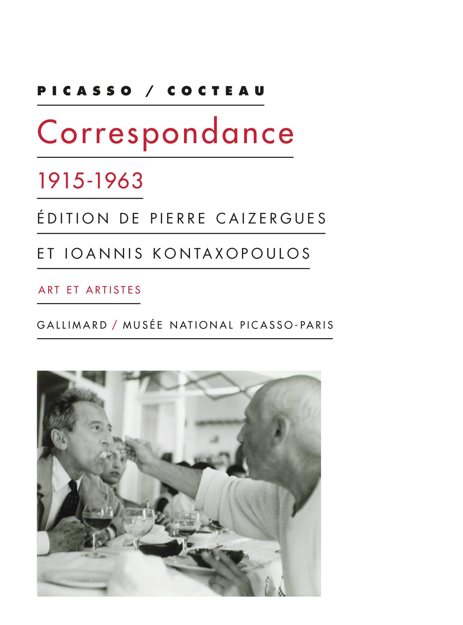 J. Cocteau, P. Picasso, Correspondance (1915-1963)