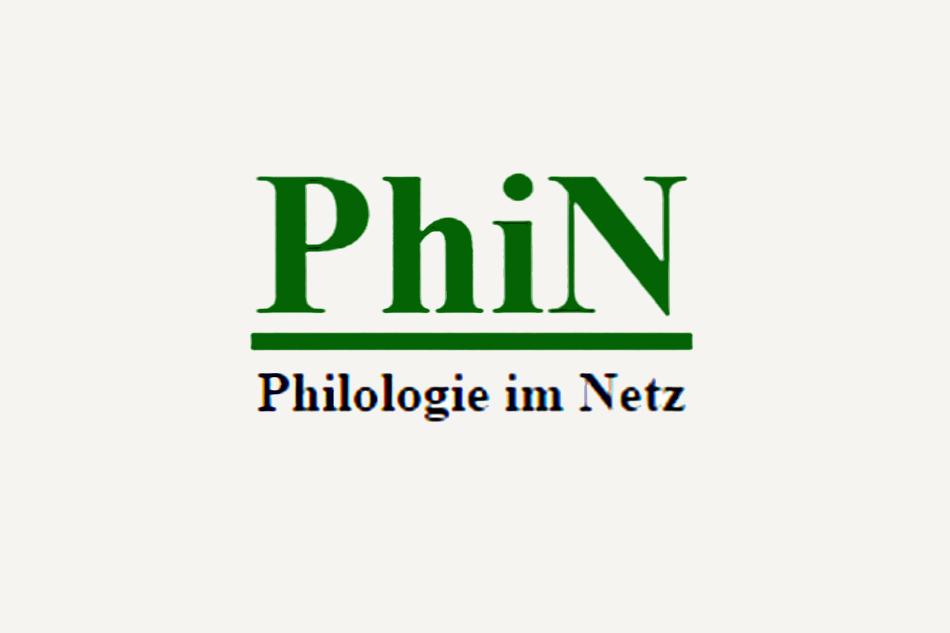 <em>PhiN. Philologie im Netz</em>, n° 84