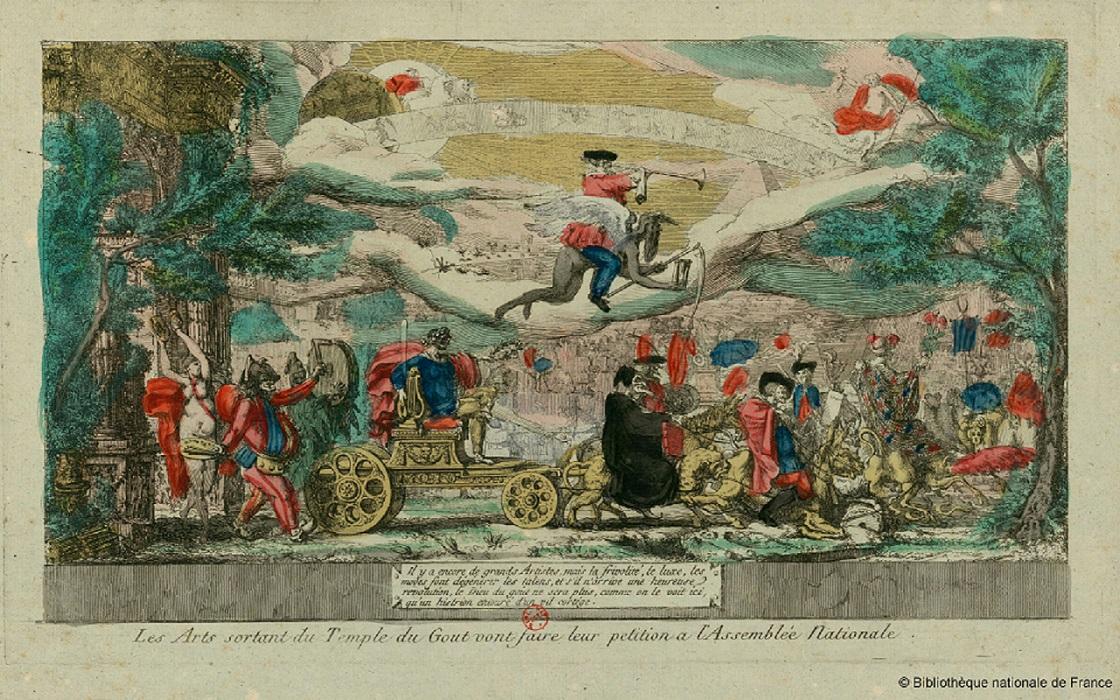 Art et Démocratie. Les débats liés aux arts du dessin entre 1789 et 1792 (Base de données)