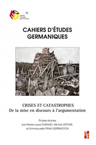 Cahiers d'Études Germaniques, n° 73 :
