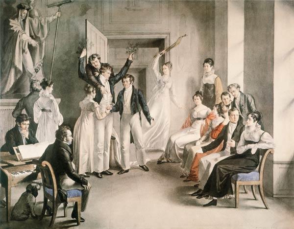 Genres et esthétique des théâtres de société, XVIIIe-XIXe s. (Rouen)
