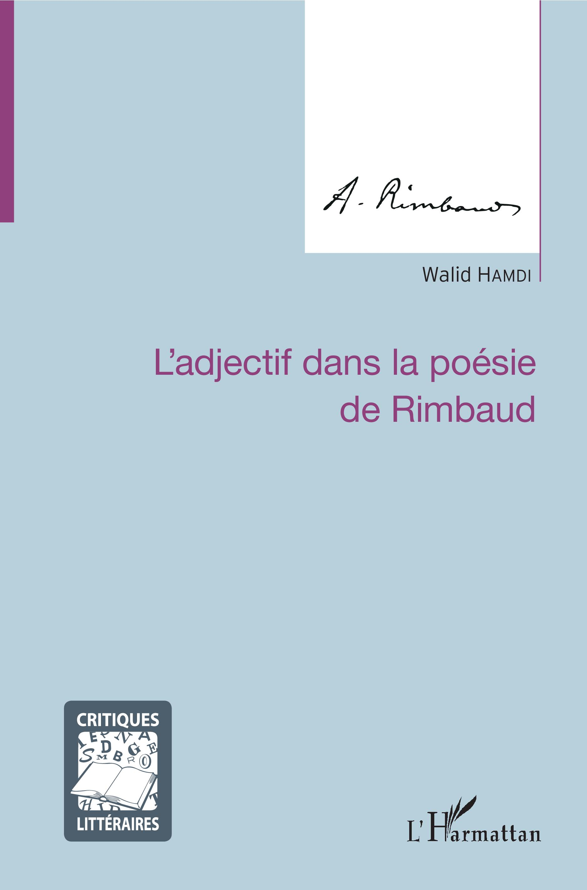 W. Hamdi, L'Adjectif dans la poésie de Rimbaud