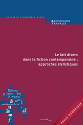 <em>Recherches &amp; Travaux</em>, n° 92-2018 :