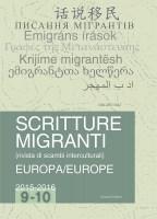 Scritture migranti: rivista di scambi interculturali, n°9-10 :