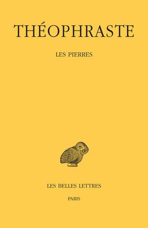 Théophraste, Les Pierres