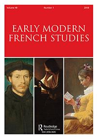 <em>Early Modern French Studies</em>, 40.1, <em>Posterity</em> (dir. J. Goodman et J. Harris)