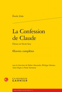 Zola, La Confession de Claude