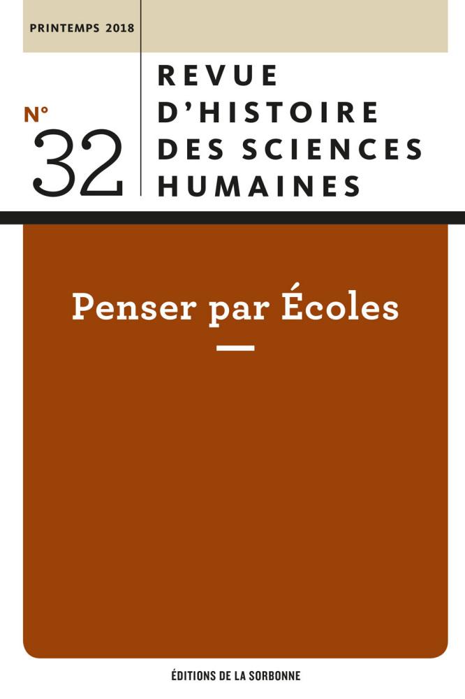 Revue d'histoire des sciences humaines, n° 32 :
