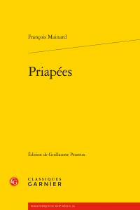 F. Mainard, Priapées (éd. G. Peureux)