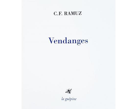 C.-F. Ramuz, Vendanges