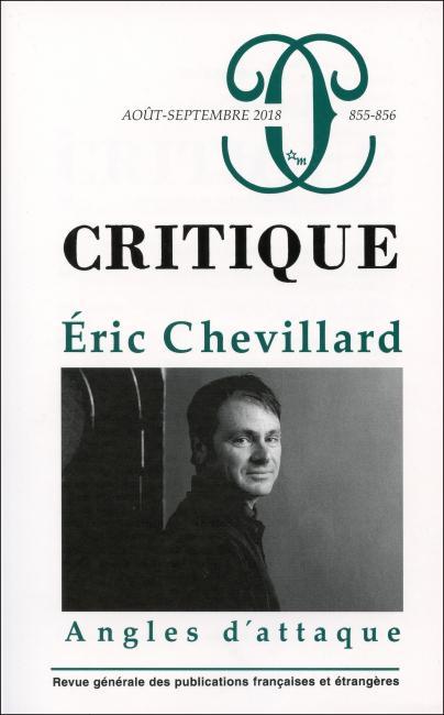 Critique, n° 855-856 :