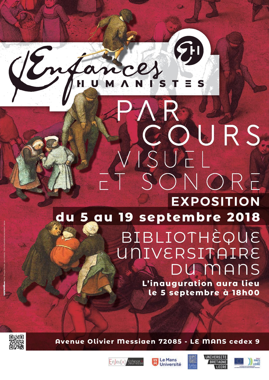 Inauguration de l'exposition Enfances humanistes au Mans
