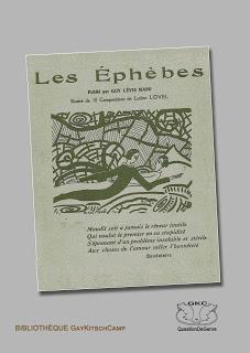 Guy Levis Mano, Les Ephèbes, poésies, 1924