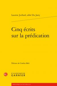 L. Juillard, Cinq écrits sur la prédication