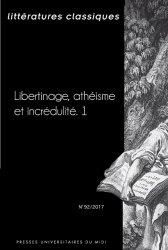 Littératures classiques, n°92 :