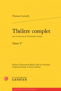 Thomas Corneille, Théâtre complet. Tome V