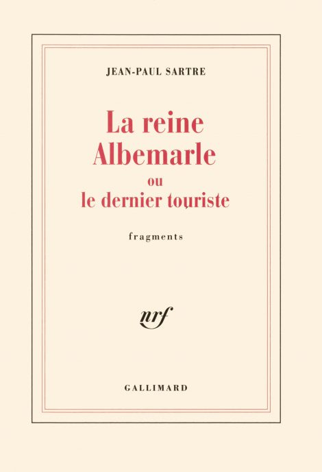 La Reine Albemarle ou Le dernier touriste. Conf. de G. Philippe (Item, ENS Paris)