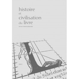 Histoire et civilisation du livre, n°14,